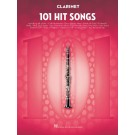 101 Hit Songs for Clarinet -  Various   (Clarinet) 101 Instrumental Folios - Hal Leonard. Softcover Book