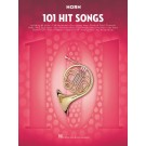 101 Hit Songs for Horn -  Various   (French Horn) 101 Instrumental Folios - Hal Leonard. Softcover Book