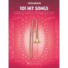 101 Hit Songs for Trombone -  Various   (Trombone) 101 Instrumental Folios - Hal Leonard. Softcover Book