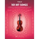 101 Hit Songs for Violin -  Various   (Violin) 101 Instrumental Folios - Hal Leonard. Softcover Book