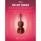 101 Hit Songs for Viola -  Various   (Viola) 101 Instrumental Folios - Hal Leonard. Softcover Book