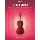 101 Hit Songs for Cello -  Various   (Cello) 101 Instrumental Folios - Hal Leonard. Softcover Book