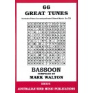 66 Great Tunes for Bassoon - Mark Walton    (Bassoon) 66 Great Tunes - Australian Wind Music Publications. Softcover/CD Book
