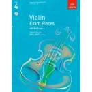 A B Violin Exam Pieces 2012-15 Gr 4 W/Pno & Cd -     (Violin) ABRSM Exam Pieces - ABRSM. Softcover/CD Book
