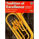 Tradition of Excellence Book 1 - Eb Horn -  Bruce Pearson|Ryan Nowlin   (Eb Tenor Horn)  - Neil A. Kjos Music Company. Softcover/DVD Book