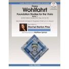 Foundation Studies for the Viola - Book 1 - Rachel Barton Pine   Franz Wohlfahrt (Viola)  - Carl Fischer. Softcover/DVD Book