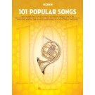 101 Popular Songs for Horn -     (French Horn) 101 Instrumental Folios - Hal Leonard. Softcover Book