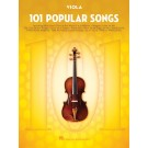 101 Popular Songs for Viola -     (Viola) 101 Instrumental Folios - Hal Leonard. Softcover Book