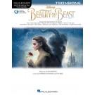 Beauty and the Beast for Trombone -     (Trombone) Instrumental Play-Along - Hal Leonard.  Book