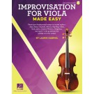 Improvisation for Viola Made Easy -     (Viola)  - Hal Leonard. Sftcvr/Online Audio Book