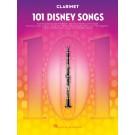101 Disney Songs for Clarinet -     (Clarinet) 101 Instrumental Folios - Hal Leonard.  Book