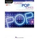 Classic Pop Songs for Trumpet -     (Trumpet) Instrumental Play-Along - Hal Leonard. Sftcvr/Online Audio Book