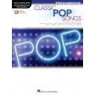 Classic Pop Songs for Trombone -     (Trombone) Instrumental Play-Along - Hal Leonard. Sftcvr/Online Audio Book