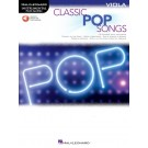 Classic Pop Songs for Viola -     (Viola) Instrumental Play-Along - Hal Leonard. Sftcvr/Online Audio Book