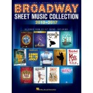 Broadway Sheet Music Collection: 2010-2017 -     (Guitar|Piano|Vocal)  - Hal Leonard. Softcover Book