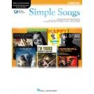 Simple Songs for Oboe -     (Oboe) Instrumental Play-Along - Hal Leonard. Sftcvr/Online Audio Book