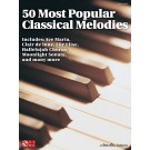 50 Most Popular Classical Melodies -    Various (Piano) Easy Piano Songbook - Cherry Lane Music. Softcover Book