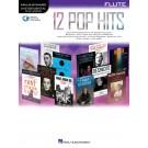 12 Pop Hits - Flute -     (Flute) Instrumental Play-Along - Hal Leonard. Sftcvr/Online Audio Book