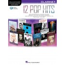 12 Pop Hits - Clarinet -     (Clarinet) Instrumental Play-Along - Hal Leonard. Sftcvr/Online Audio Book