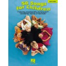 50 Songs for Children -    Various (Piano) Easy Piano Songbook - Hal Leonard. Softcover Book