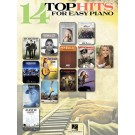 14 Top Hits for Easy Piano -     (Piano) Easy Piano Songbook - Hal Leonard. Softcover Book