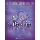 The Best Praise & Worship Songs Ever -    Various (Piano)  - Hal Leonard. Softcover Book