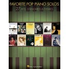 Favorite Pop Piano Solos -  Various   (Piano)  - Hal Leonard. Softcover Book