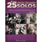 25 Great Trumpet Solos -  Eric J. Morones   (Trumpet)  - Hal Leonard. Sftcvr/Online Audio Book