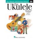 Play Ukulele Today! -  John Nicholson   (Ukulele)  - Hal Leonard. DVD Book