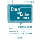 Concert and Contest Collection for F Horn - H. Voxman    (French Horn) Concert and Contest - Rubank Publications. Sftcvr/Online Media Book