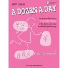 A Dozen a Day Mini Book - Book/CD Pack -  Edna Mae Burnam   (Piano) A Dozen a Day - Willis Music. Softcover/CD Book