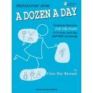 A Dozen a Day Preparatory Book - Book/CD Pack -  Edna Mae Burnam   (Piano) A Dozen a Day - Willis Music. Softcover/CD Book