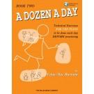 A Dozen a Day Book 2 - Book/CD Pack -  Edna Mae Burnam   (Piano) A Dozen a Day - Willis Music. Softcover/CD Book