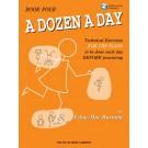 A Dozen a Day Book 4 - Book/CD Pack -    Edna Mae Burnam (Piano) A Dozen a Day - Willis Music. Softcover/CD Book