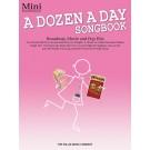 A Dozen a Day Songbook - Mini - Carolyn Miller   Various (Piano) A Dozen a Day - Willis Music. Softcover Book