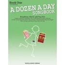 A Dozen a Day Songbook - Book 1 - Carolyn Miller   Various (Piano) A Dozen a Day - Willis Music. Softcover Book