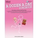 A Dozen a Day Songbook - Mini - Book/CD Pack - Carolyn Miller   Various (Piano) A Dozen a Day - Willis Music. Softcover/CD Book