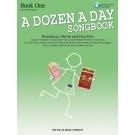A Dozen a Day Songbook - Book 1 - Book/CD Pack - Carolyn Miller   Various (Piano) A Dozen a Day - Willis Music. Softcover/CD Book