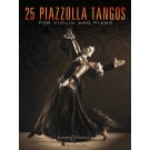 25 Piazzolla Tangos for Violin and Piano -    Astor Piazzolla (Violin)  - Boosey & Hawkes. Softcover Book