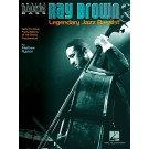 Ray Brown - Legendary Jazz Bassist -  Ray Brown   (Double Bass) Artist Transcriptions - Hal Leonard. Softcover Book