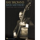 Ray Brown's Bass Method -  Ray Brown   (Double Bass)  - Hal Leonard. Softcover Book