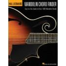 Mandolin Chord Finder -  Chad Johnson   (Mandolin)  - Hal Leonard. Softcover Book