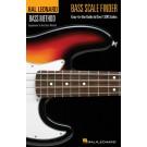 Bass Scale Finder -  Chad Johnson   (Bass Guitar) Hal Leonard Bass Method - Hal Leonard. Softcover Book