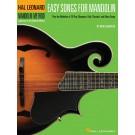Easy Songs for Mandolin - Various Arrangers    (Mandolin) Hal Leonard Mandolin Method - Hal Leonard. Softcover Book