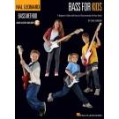 Bass for Kids -  Chad Johnson   (Bass Guitar) Hal Leonard Bass Method - Hal Leonard. Sftcvr/Online Audio Book