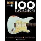 100 Blues Lessons -  Chad Johnson|John Heussenstamm   (Guitar) Guitar Lesson Goldmine Series - Hal Leonard. Sftcvr/Online Audio Book
