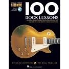 100 Rock Lessons -  Chad Johnson|Michael Mueller   (Guitar) Guitar Lesson Goldmine Series - Hal Leonard. Sftcvr/Online Audio Book