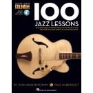100 Jazz Lessons -  John Heussenstamm|Paul Silbergleit   (Guitar) Guitar Lesson Goldmine Series - Hal Leonard. Sftcvr/Online Audio Book