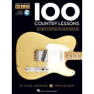 100 Country Lessons -  Chad Johnson|Troy Nelson   (Guitar) Guitar Lesson Goldmine Series - Hal Leonard. Sftcvr/Online Audio Book