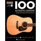 100 Acoustic Lessons -  Chad Johnson|Michael Mueller   (Guitar) Guitar Lesson Goldmine Series - Hal Leonard. Sftcvr/Online Audio Book